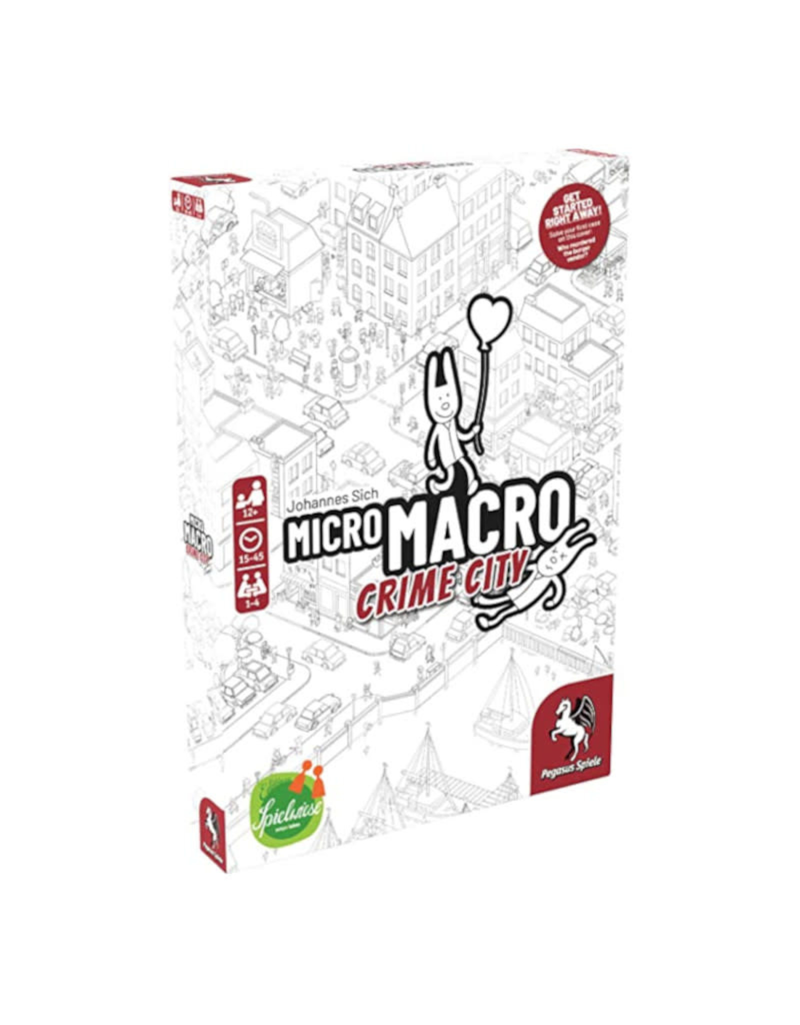 Pegasus Spiele (Reprint May 2021) MicroMacro: Crime City