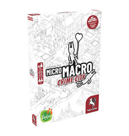 Pegasus Spiele (Reprint May 2021) MicroMacro: Crime City