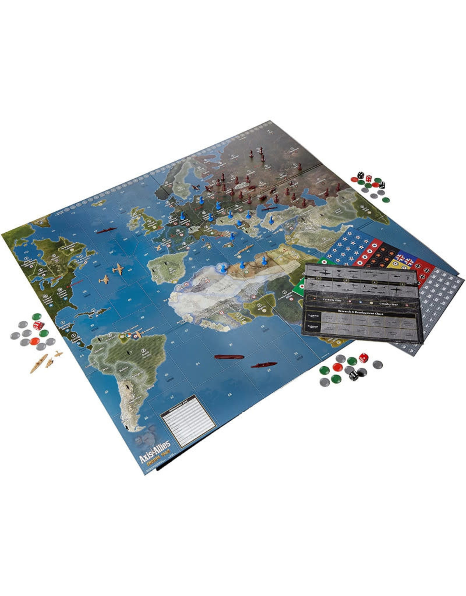 Avalon Hill Axis and Allies Europe 1940