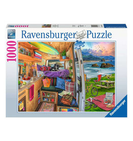 Ravensburger Rig Views Puzzle 1000 PCS