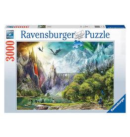 Ravensburger Reign of Dragons Puzzle 3000 PCS