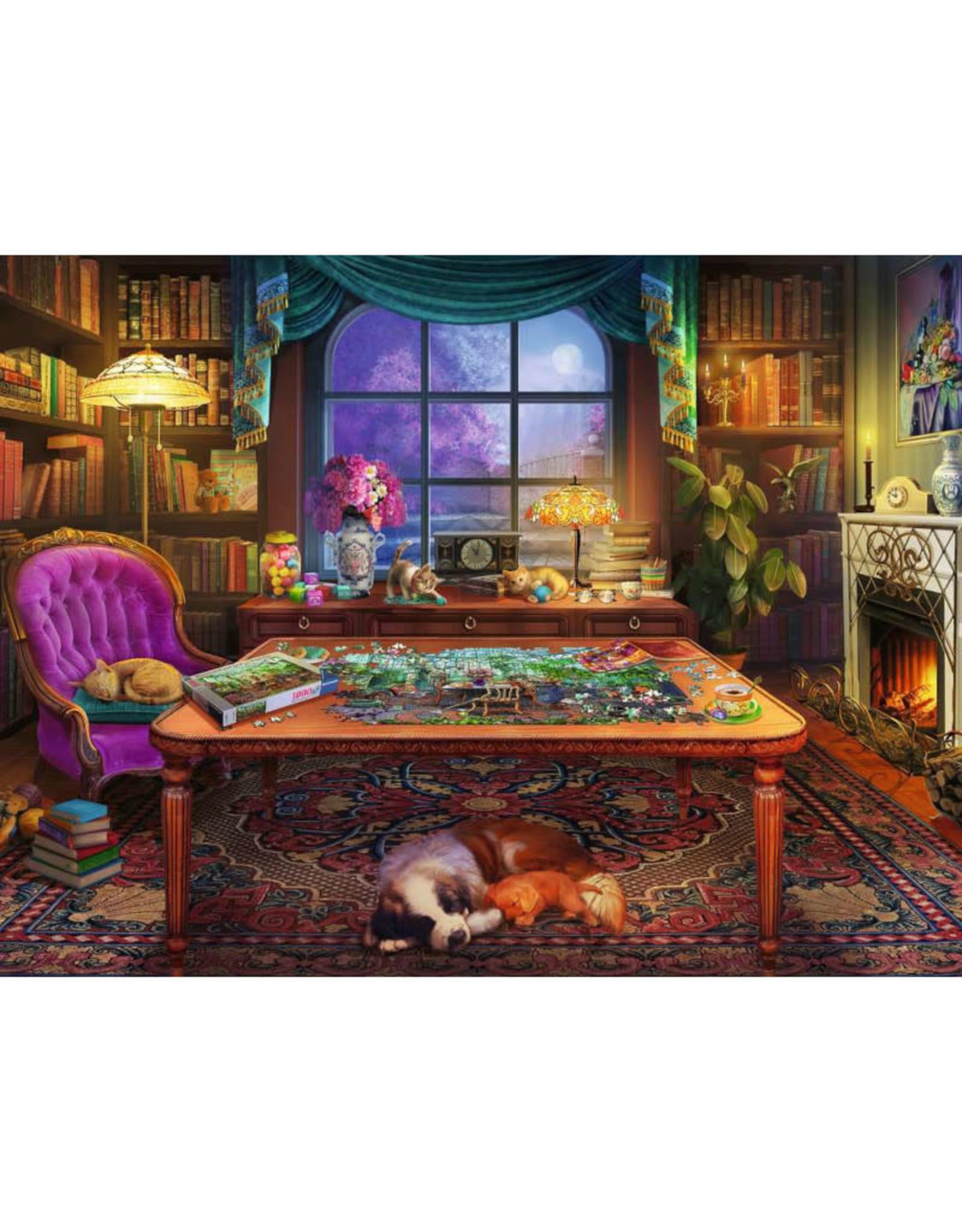 Ravensburger Puzzler's Place Puzzle 750 PCS Large Format