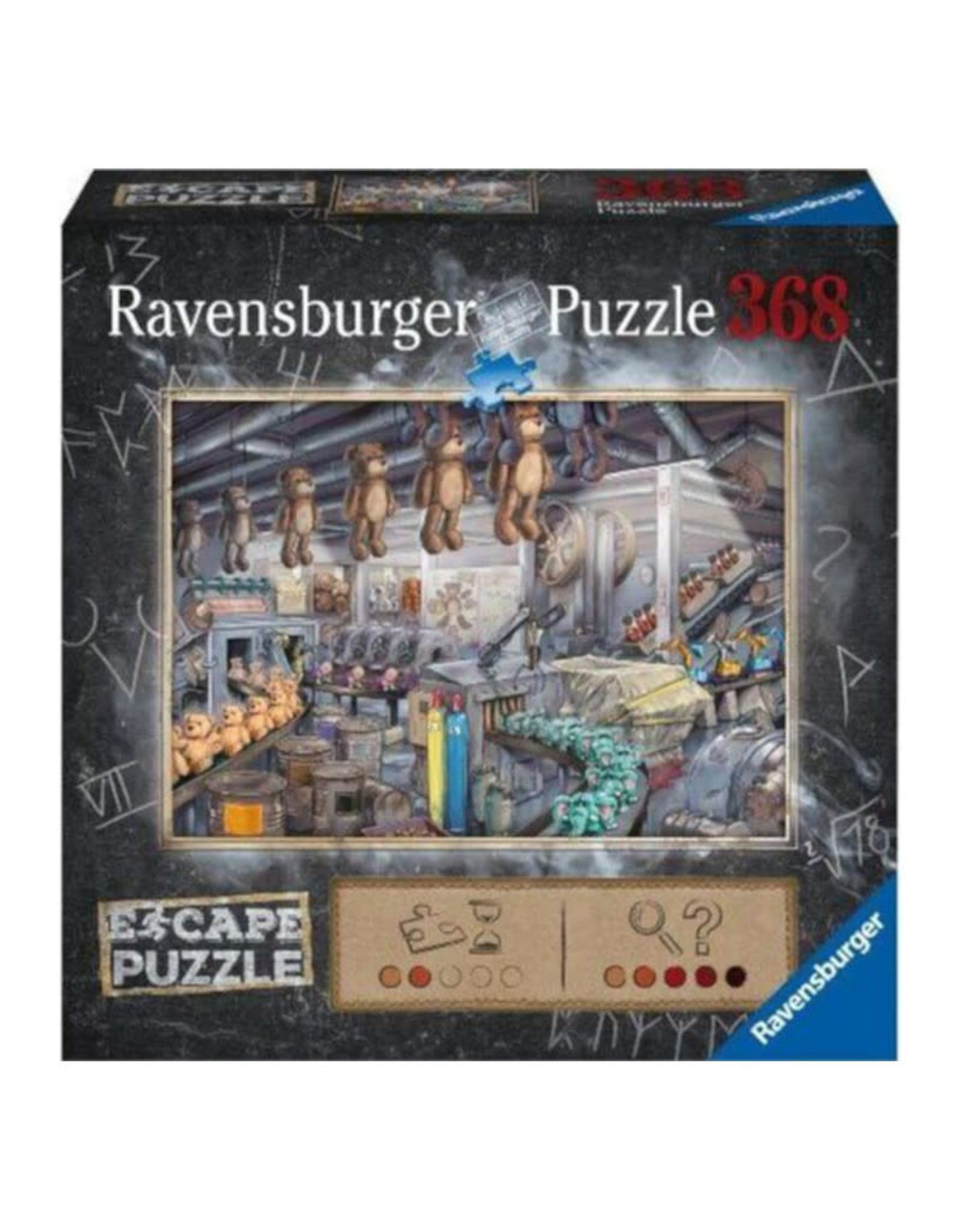 Ravensburger Toy Factory Escape Puzzle 368 PCS
