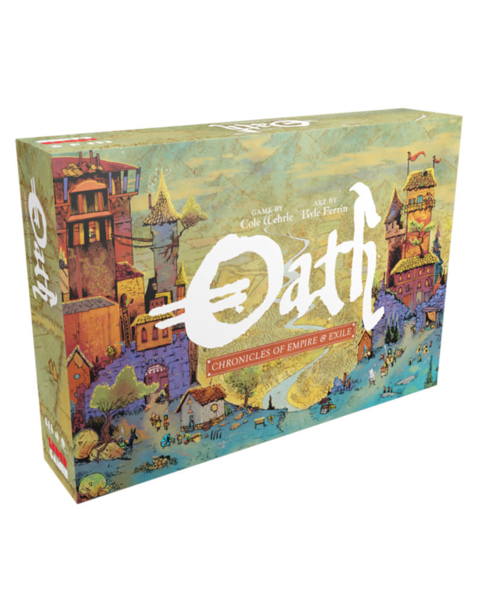Leder Games Oath: Chronicles of Empire and Exile (Pre-Order)