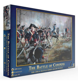 Mchezo Battle of Cowpens Puzzle 1000 PCS