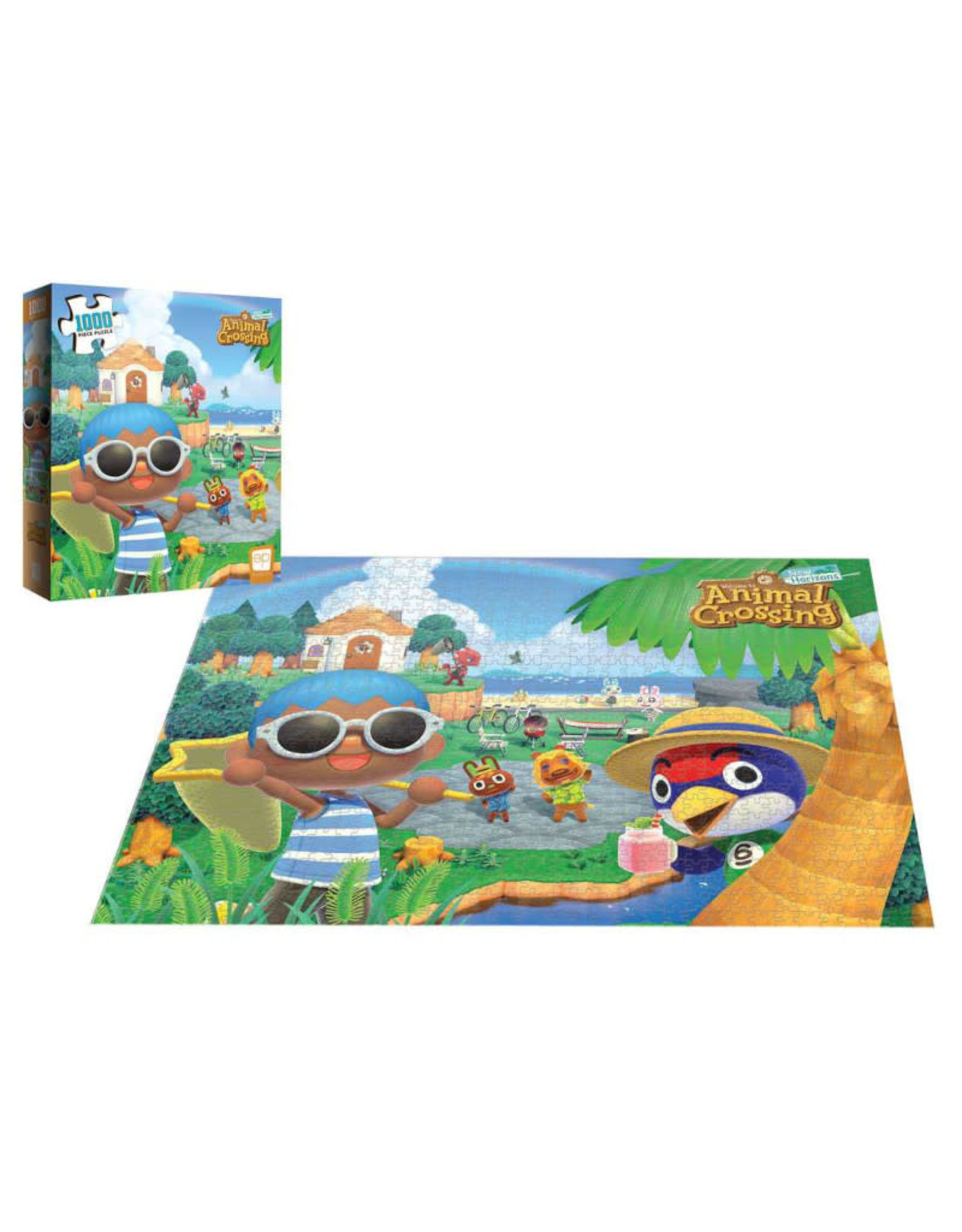 USAopoly Animal Crossing Summer Fun Puzzle 1000 PCS (Pre-Order)