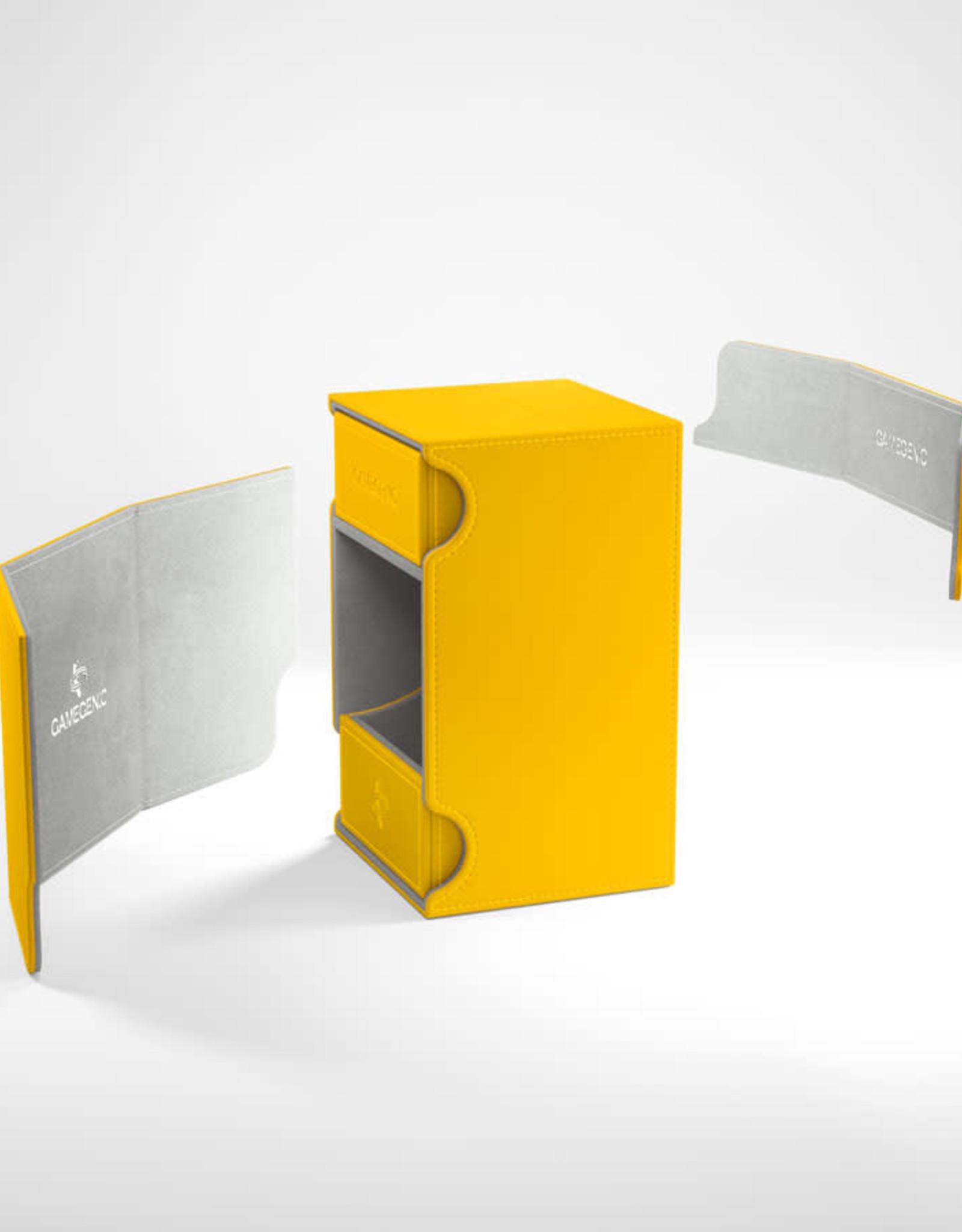 Deck Box: Watchtower 100+ Yellow