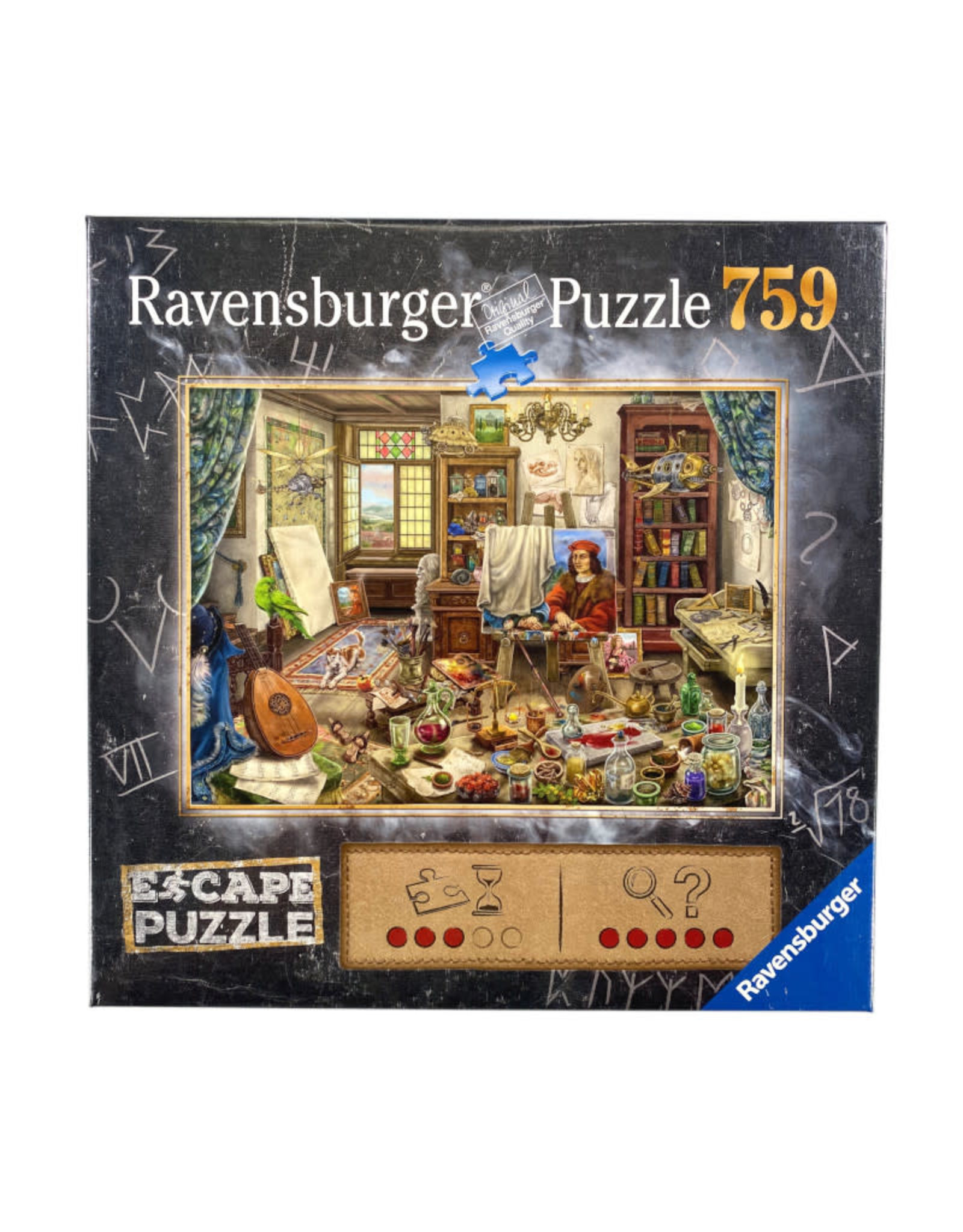 Ravensburger Artist's Studio Escape Puzzle 759 PCS