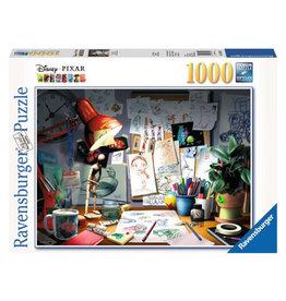 Ravensburger Disney Pixar Artist Desk Puzzle 1000 PCS