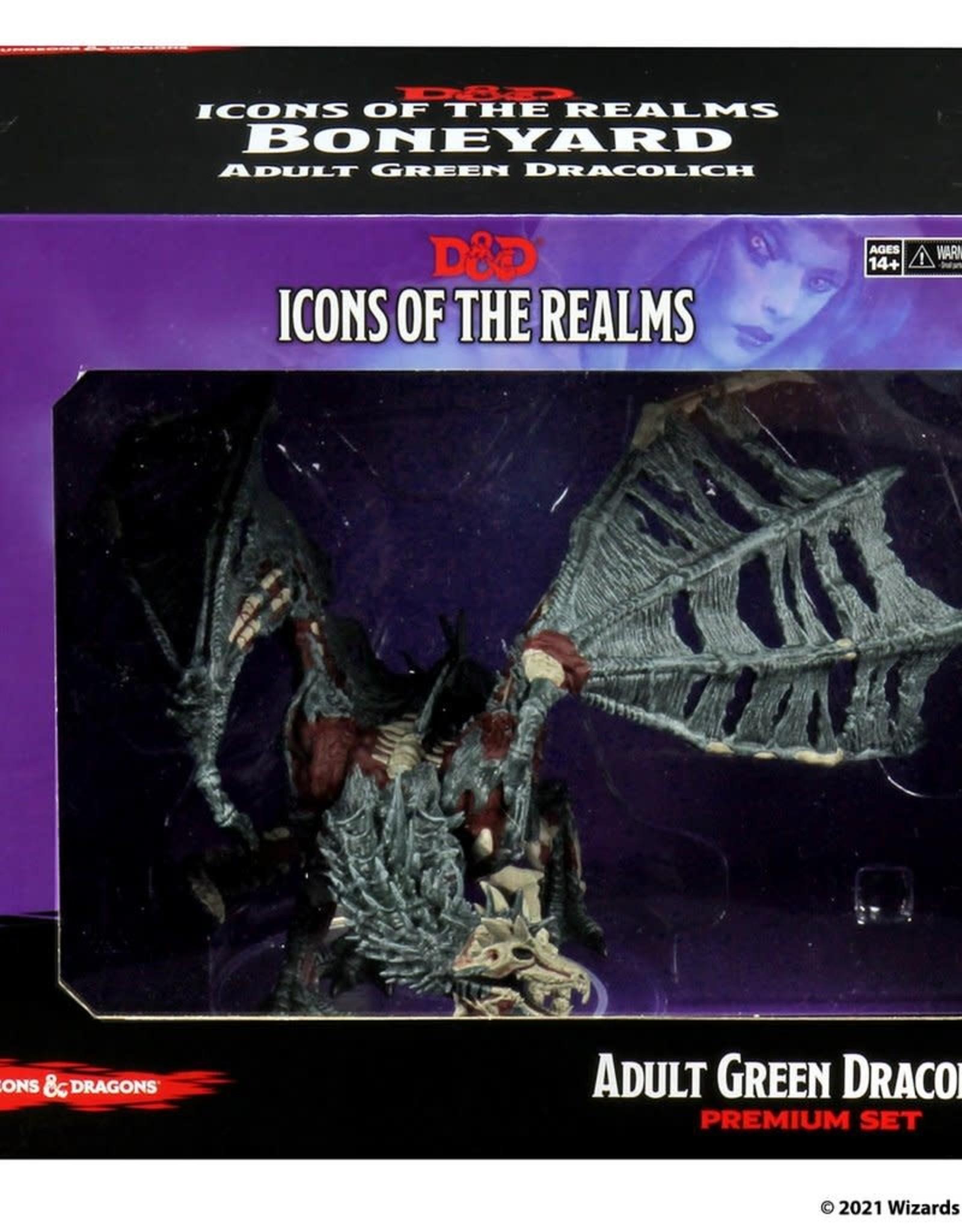 Wizkids D&D Premium Figure Green Dracolich