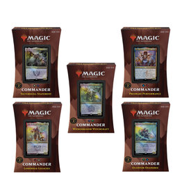 Wizards of the Coast --Pre-Orders Sold Out-- MTG Strixhaven Commander - Set of 5