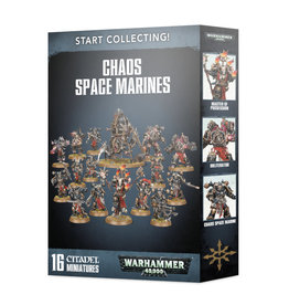 Games Workshop Warhammer 40k Start Collecting: Chaos Space Marines