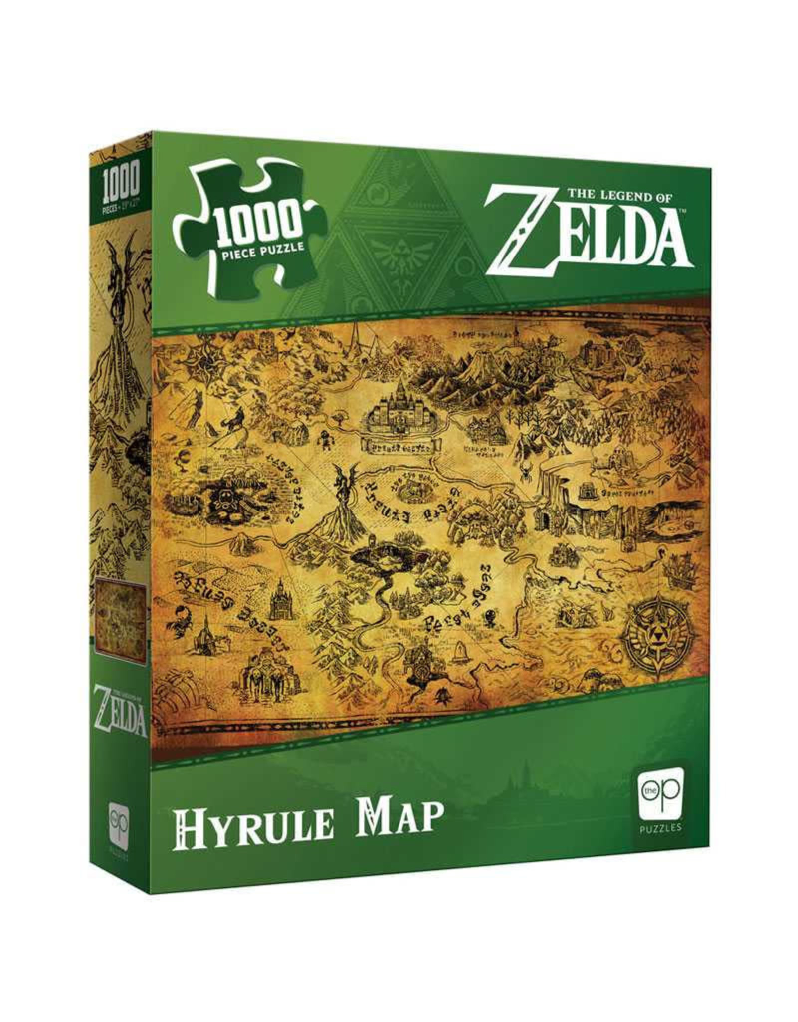 USAopoly Zelda Hyrule Map Puzzle 1000 PCS