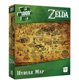 USAopoly Zelda Hyrule Map Puzzle 1000 PCS