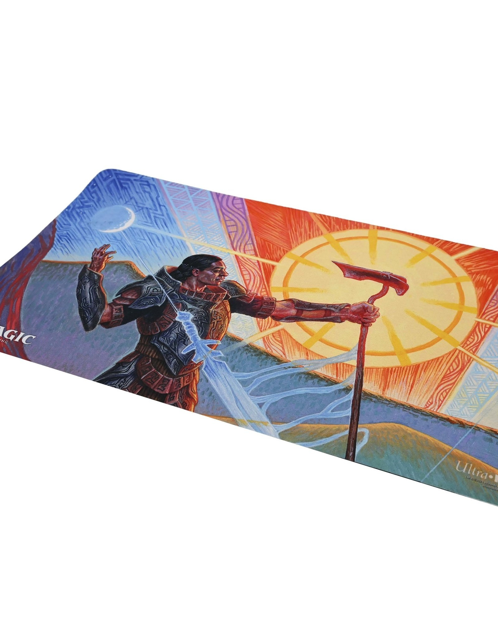 (July 2021) MTG Playmat Mystical Archive Swords To Plowshares