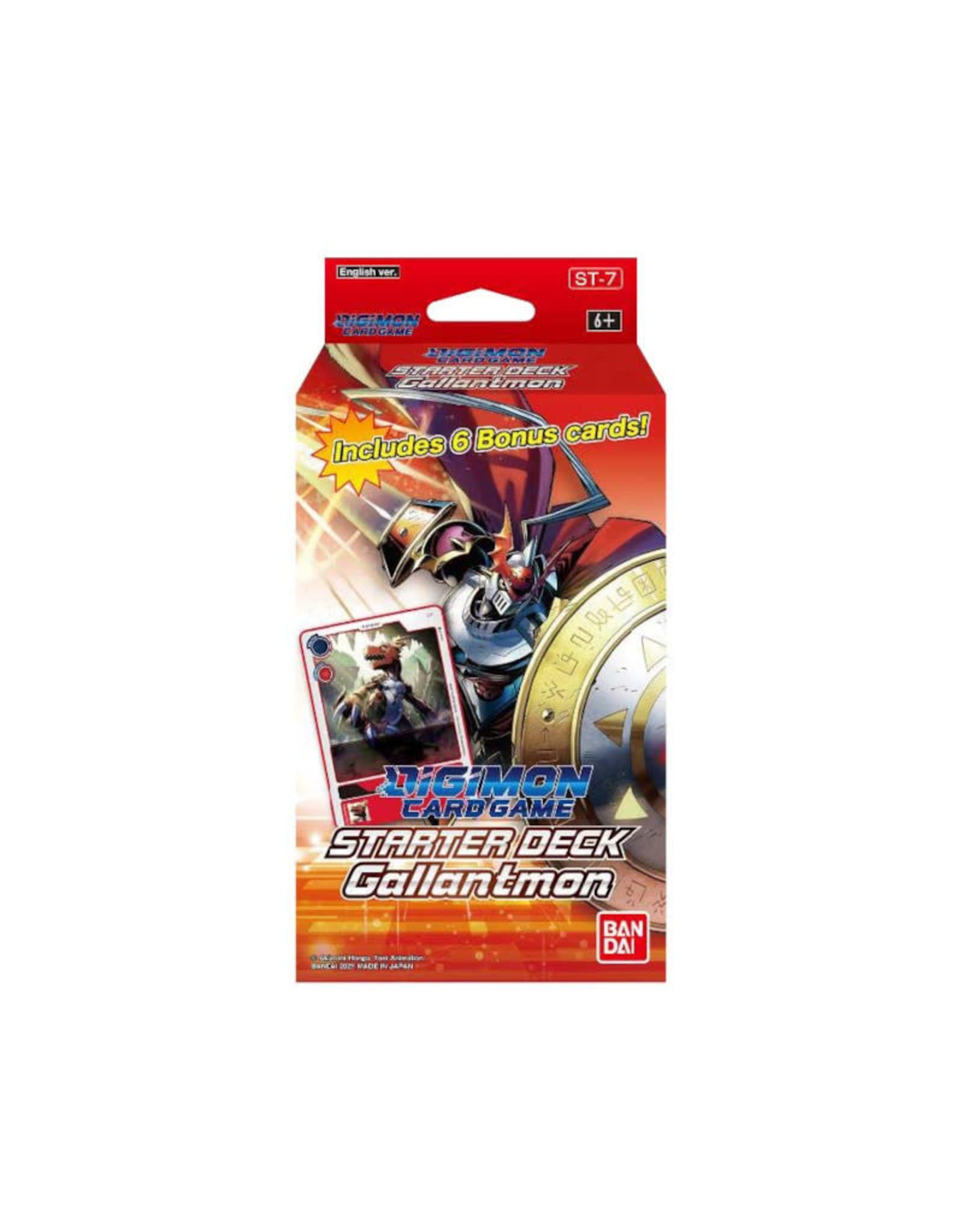 Miscellaneous Digimon Card Game Starter Deck Gallantmon (Pre-Order)