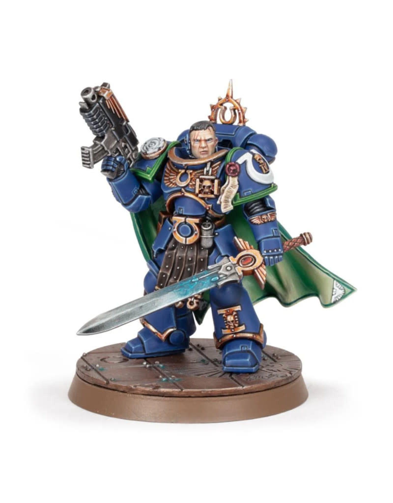 Games Workshop Warhammer 40k Space Marines Captain Uriel Ventris