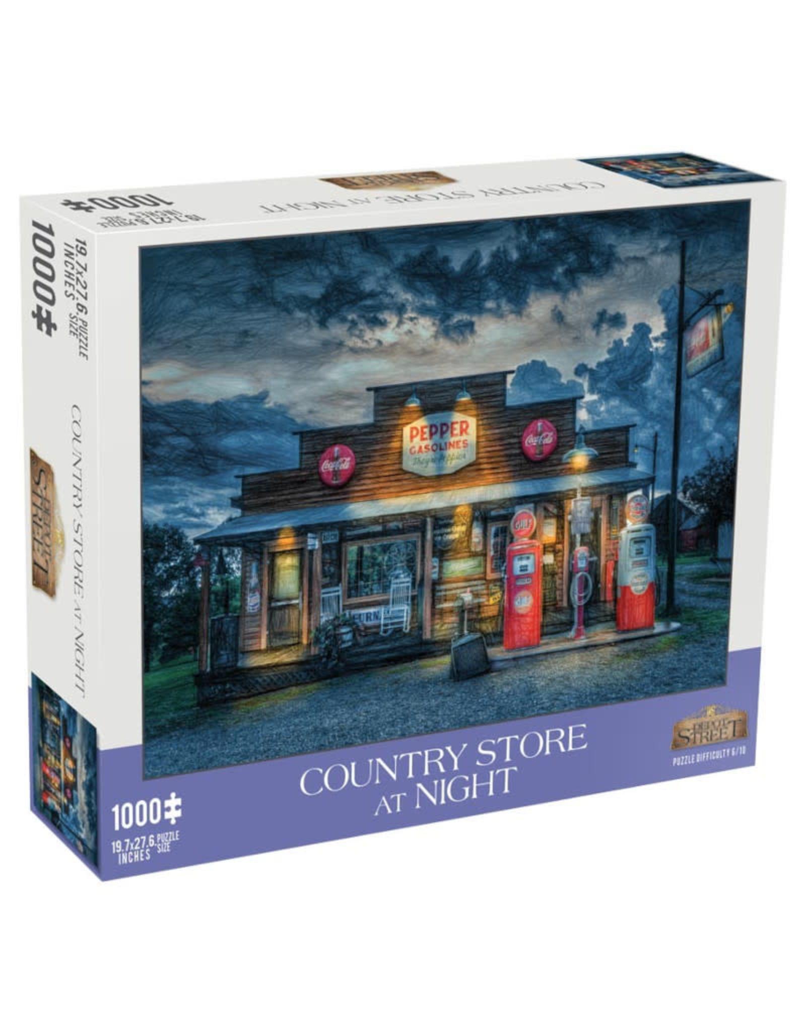 Mchezo Country Store at Night Puzzle 1000 PCS
