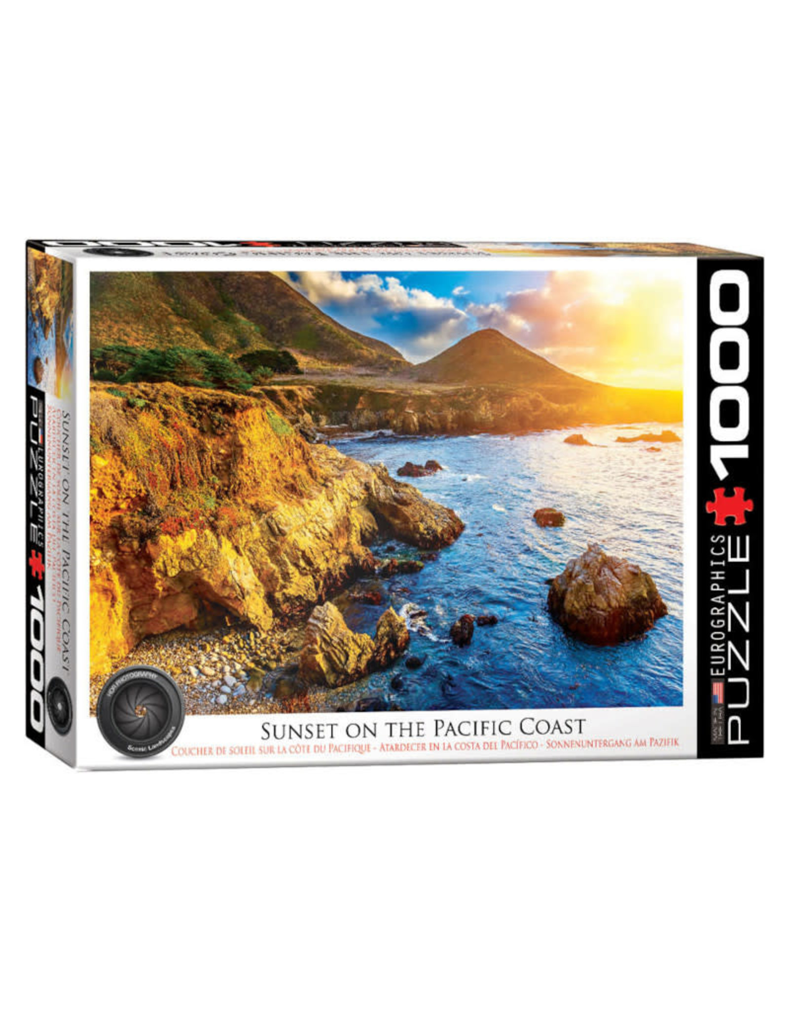 Eurographics Sunset on the Pacific Coast Puzzle 1000 PCS