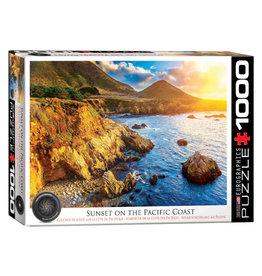 Eurographics Sunset on the Pacific Coast 1000 PCS