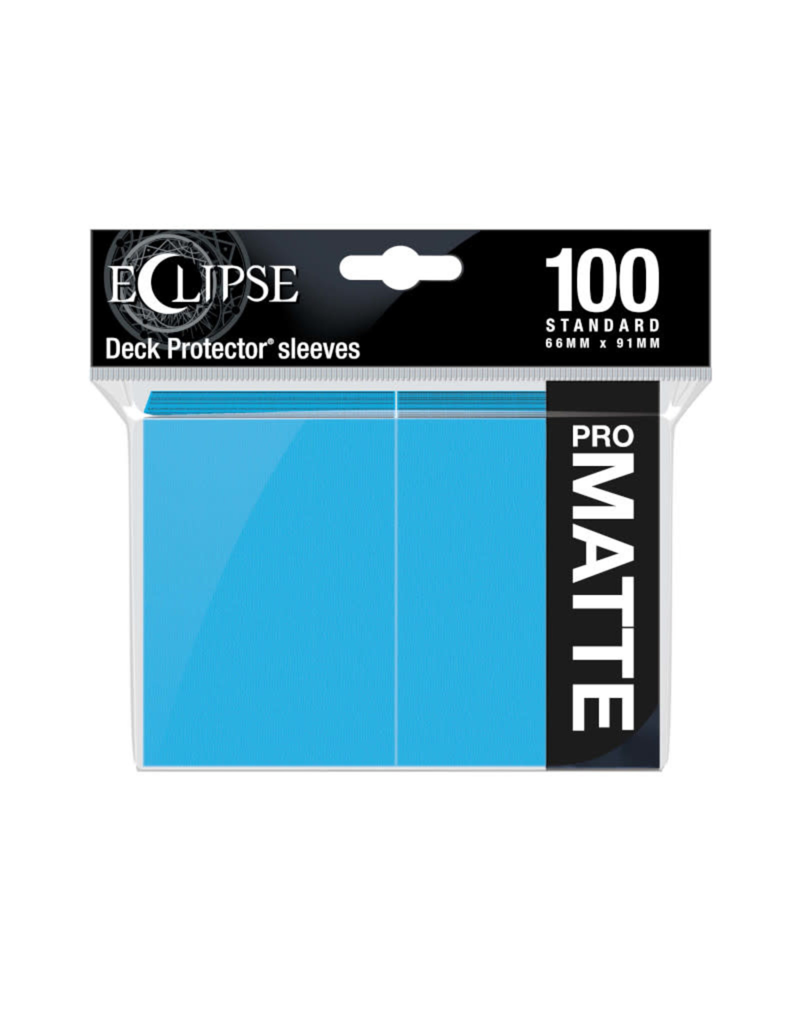 Sleeves: Pro-Matte Eclipse (100) Sky Blue