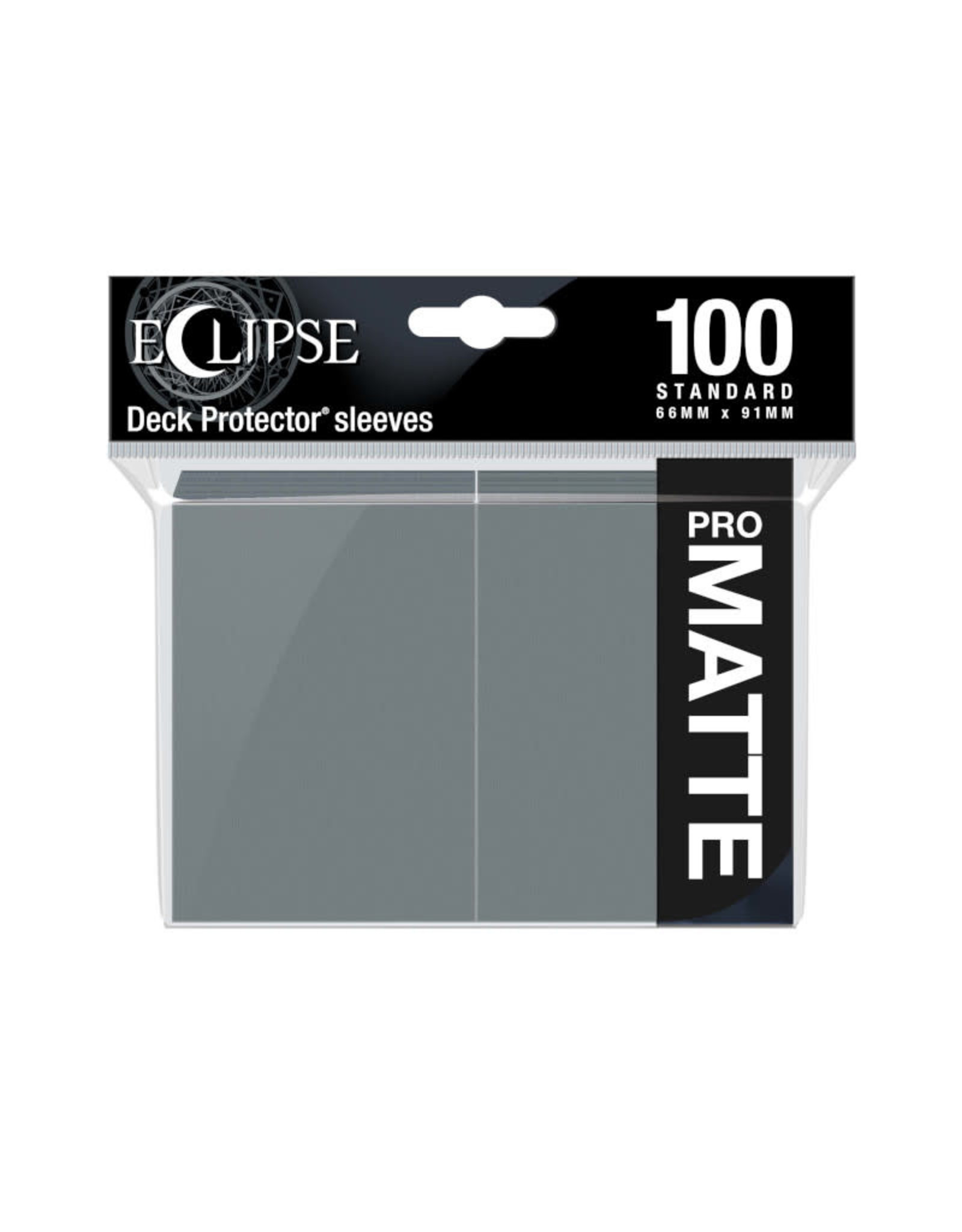 Sleeves: Pro-Matte Eclipse (100) Smoke Grey