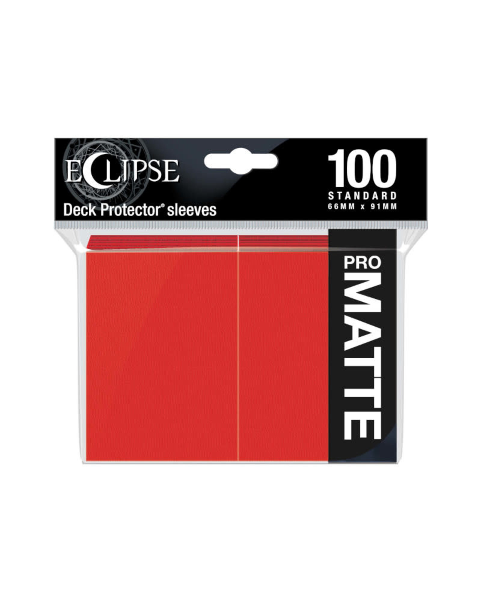 Sleeves: Pro-Matte Eclipse (100) Apple Red