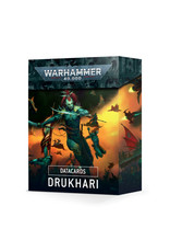 Games Workshop Warhammer 40K Datacards Drukhari (9th)
