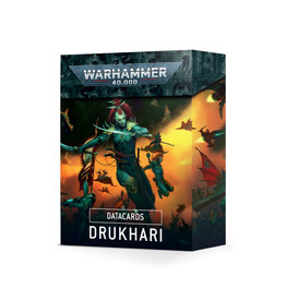 Games Workshop Warhammer 40K Datacards Drukhari (9th)