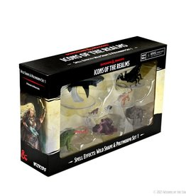 Wizkids D&D Painted Minis: Wild Shape And Polymorph Set 1