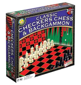 Endless Games Classic Chess/Checkers/Backgammon