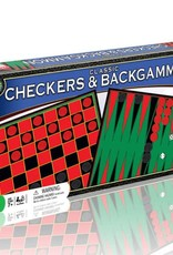 Endless Games Classic Checkers/Backgammon