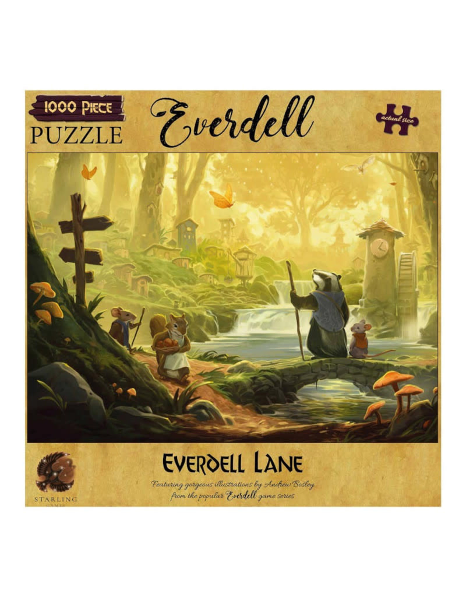 Everdell Lane Puzzle 1000 PCS