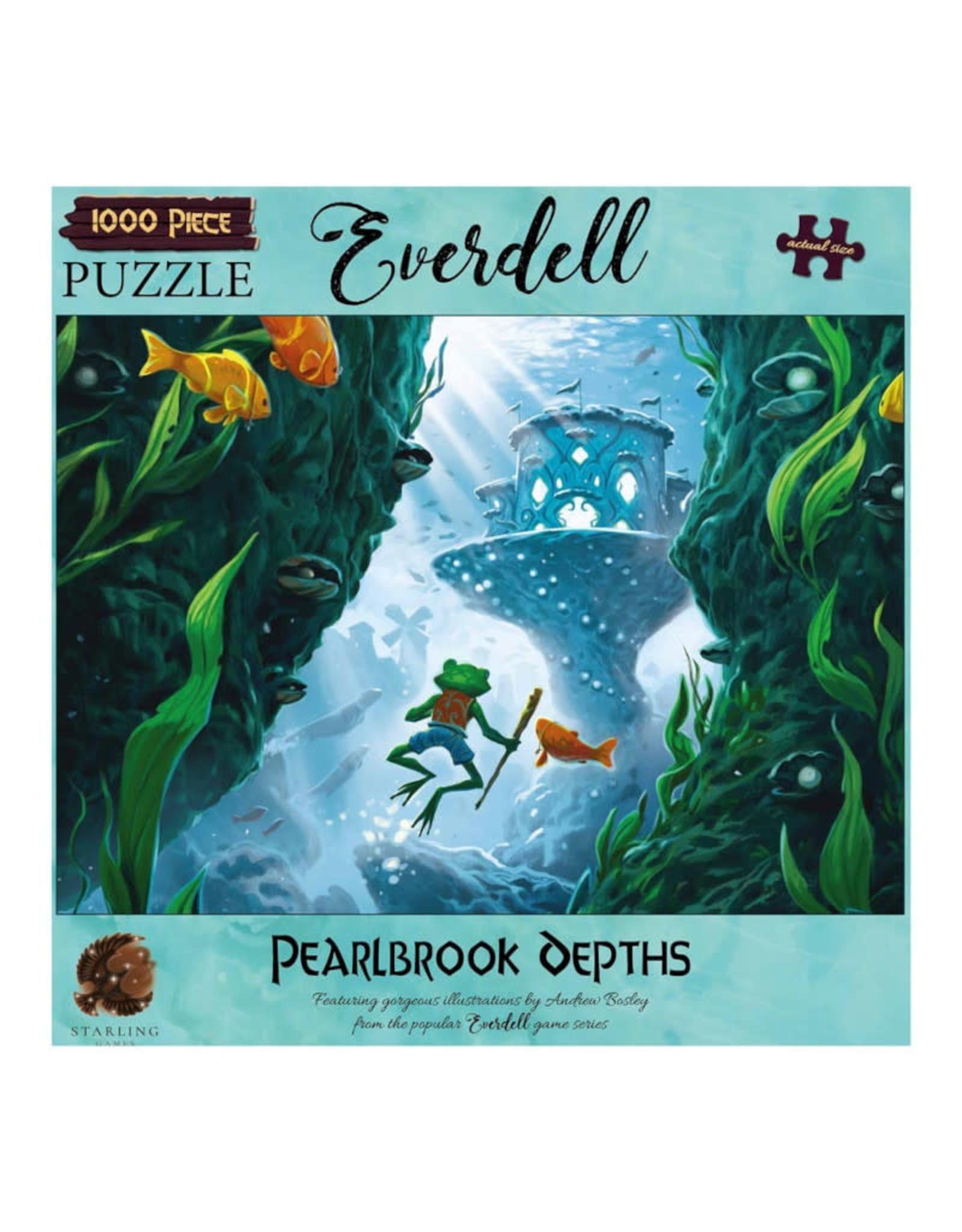 Everdell Pearlbook Depths Puzzle 1000 PCS