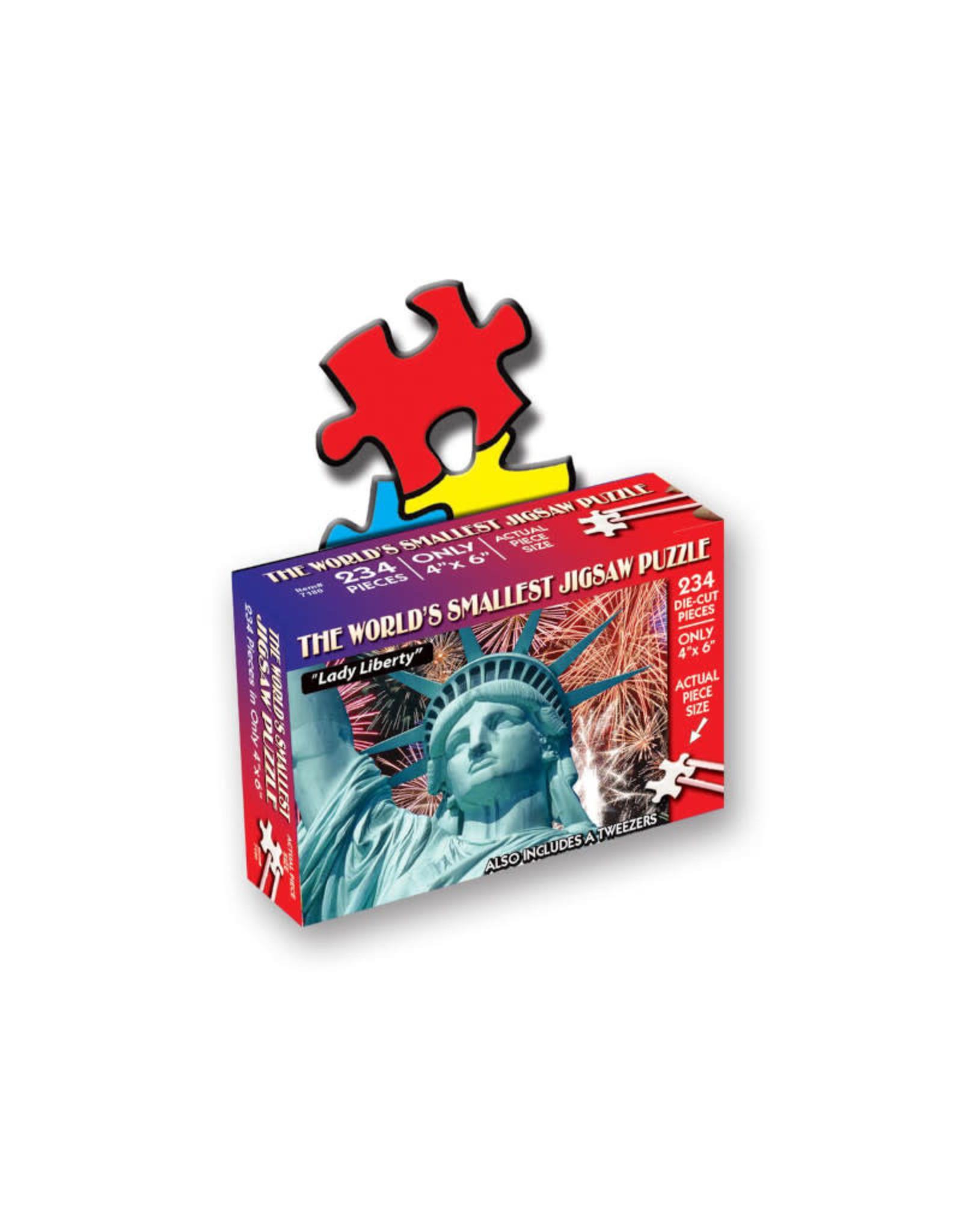 World's Smallest Jigsaw Puzzle: Lady Liberty 234 PCS