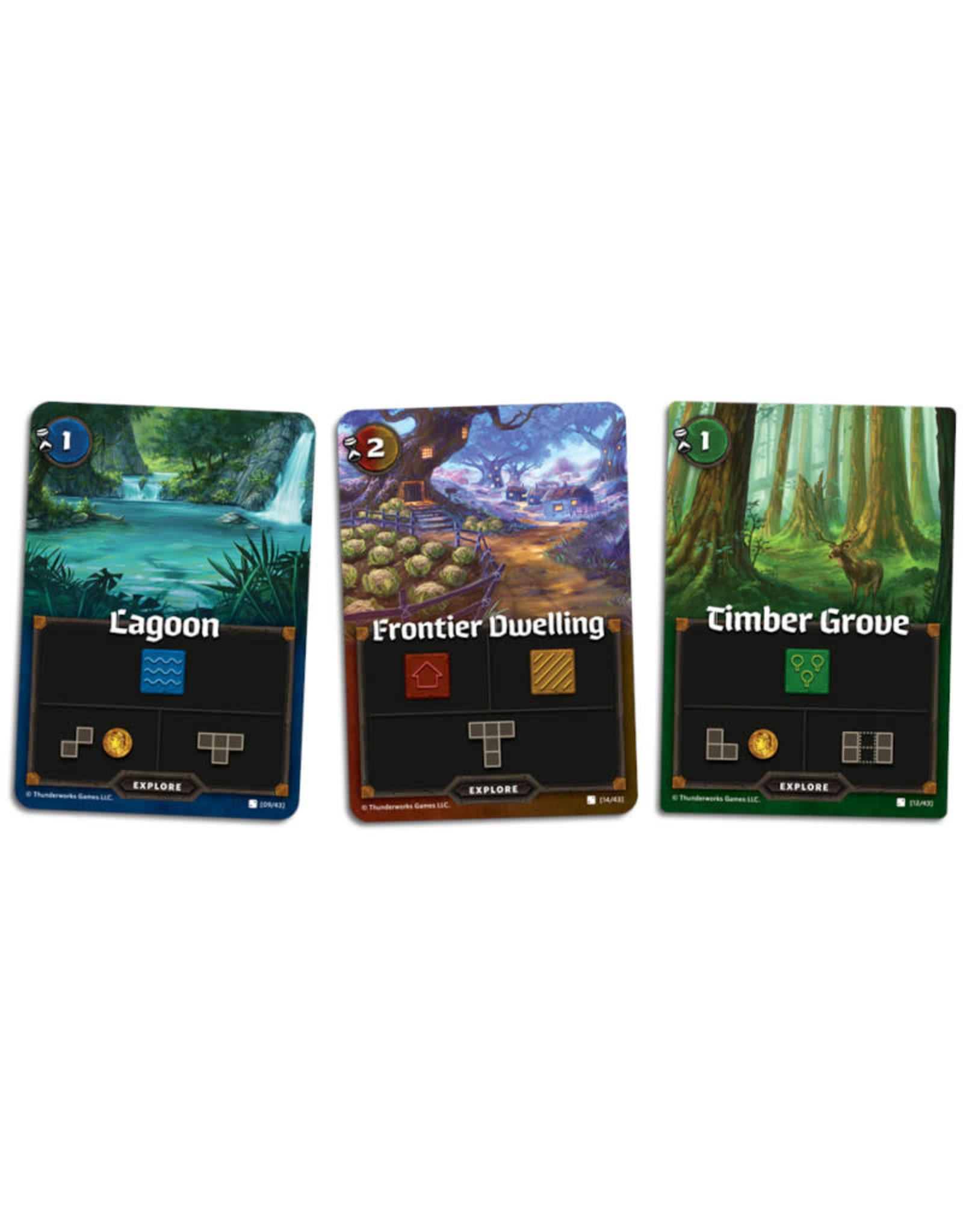 Thunderworks Games Cartographers: Heroes (Pre-Order)