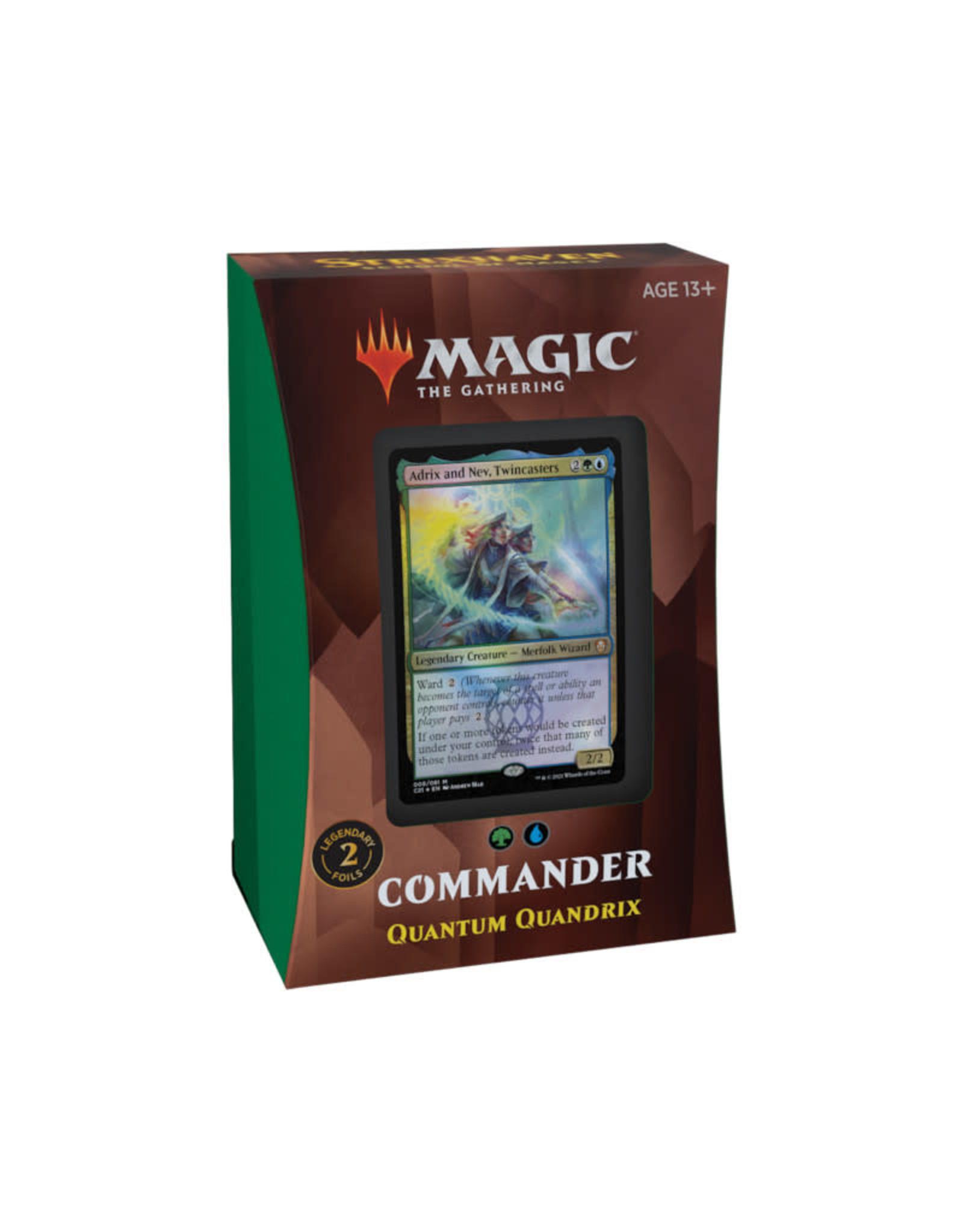 Wizards of the Coast MTG Strixhaven Commander Quantum Quandrix