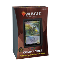 Wizards of the Coast MTG Strixhaven Commander Witherbloom Witchcraft