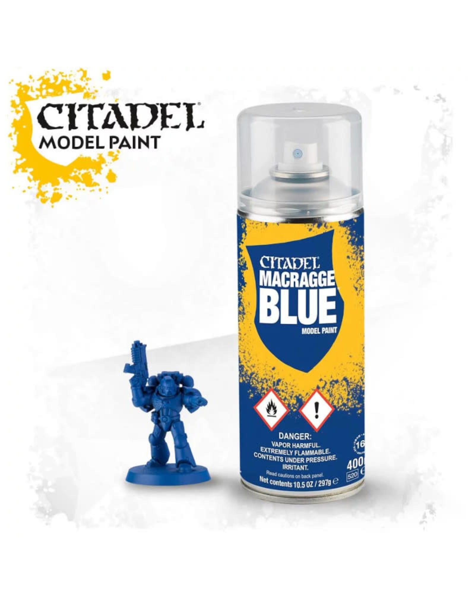 Games Workshop Spray Paint Primer: Macragge Blue