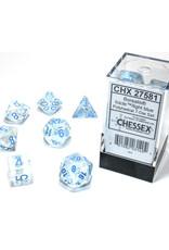 Chessex Polyhedral Dice Set: Borealis Light Blue Set (7)