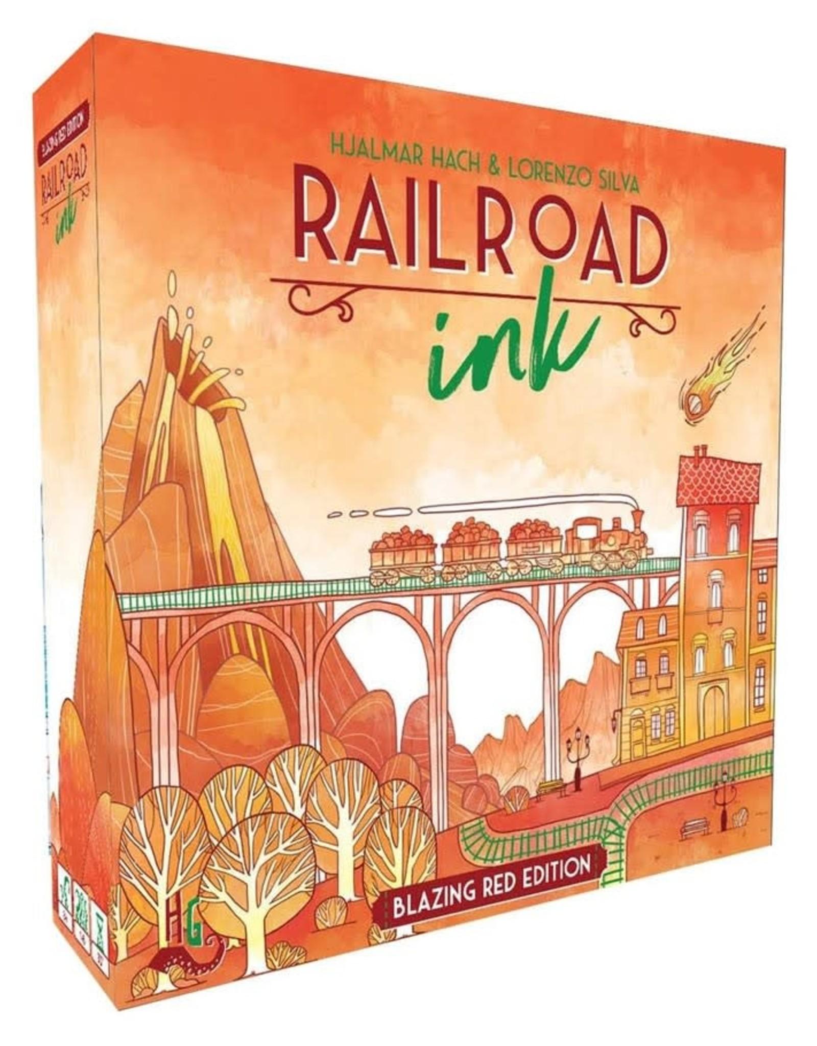 Horrible Guild Games Railroad Ink Red