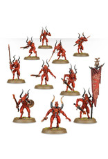 Games Workshop Warhammer 40K and Age of Sigmar: Daemons of Khorne Bloodletters