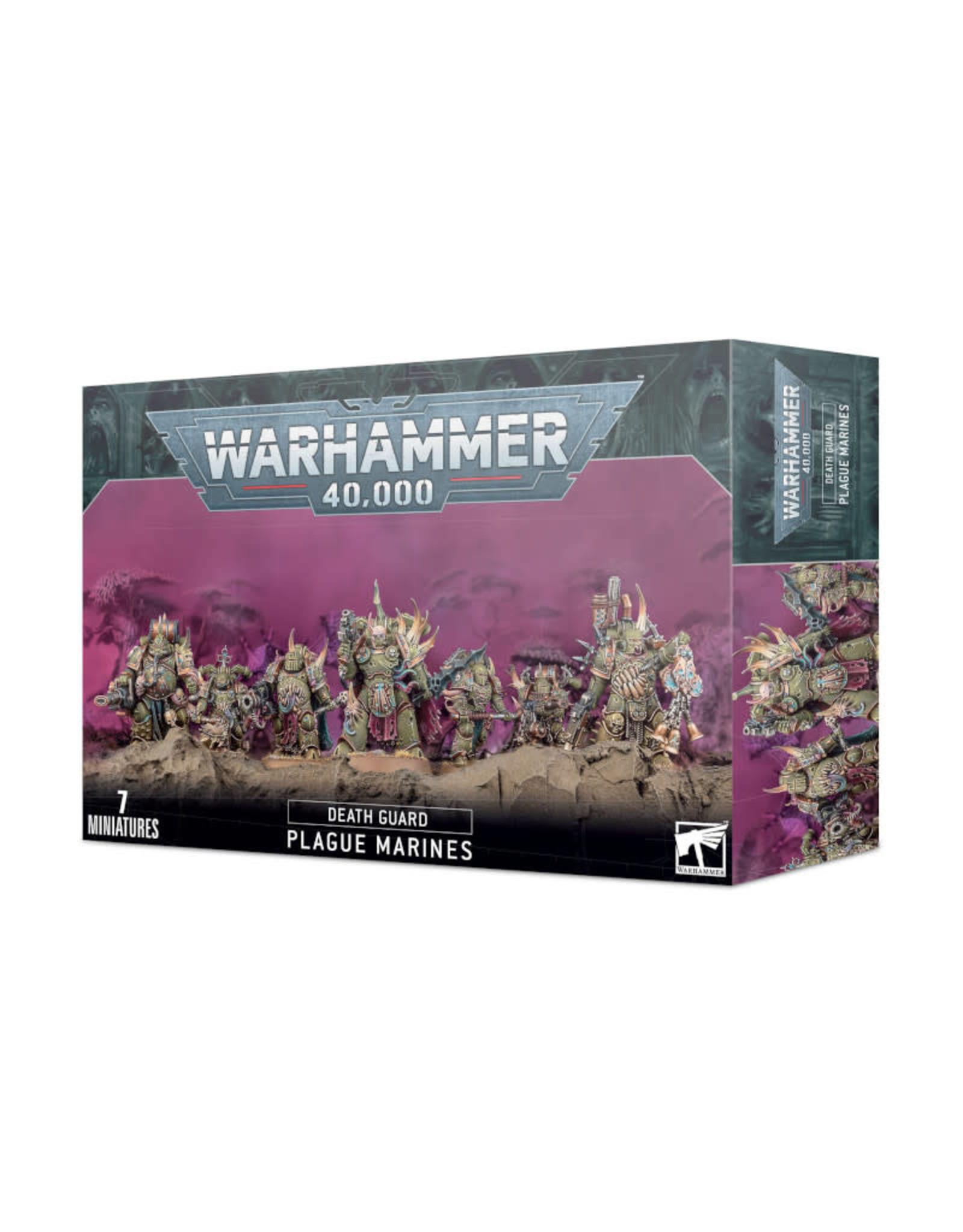Games Workshop Warhammer 40K Death Guard Plague Marines