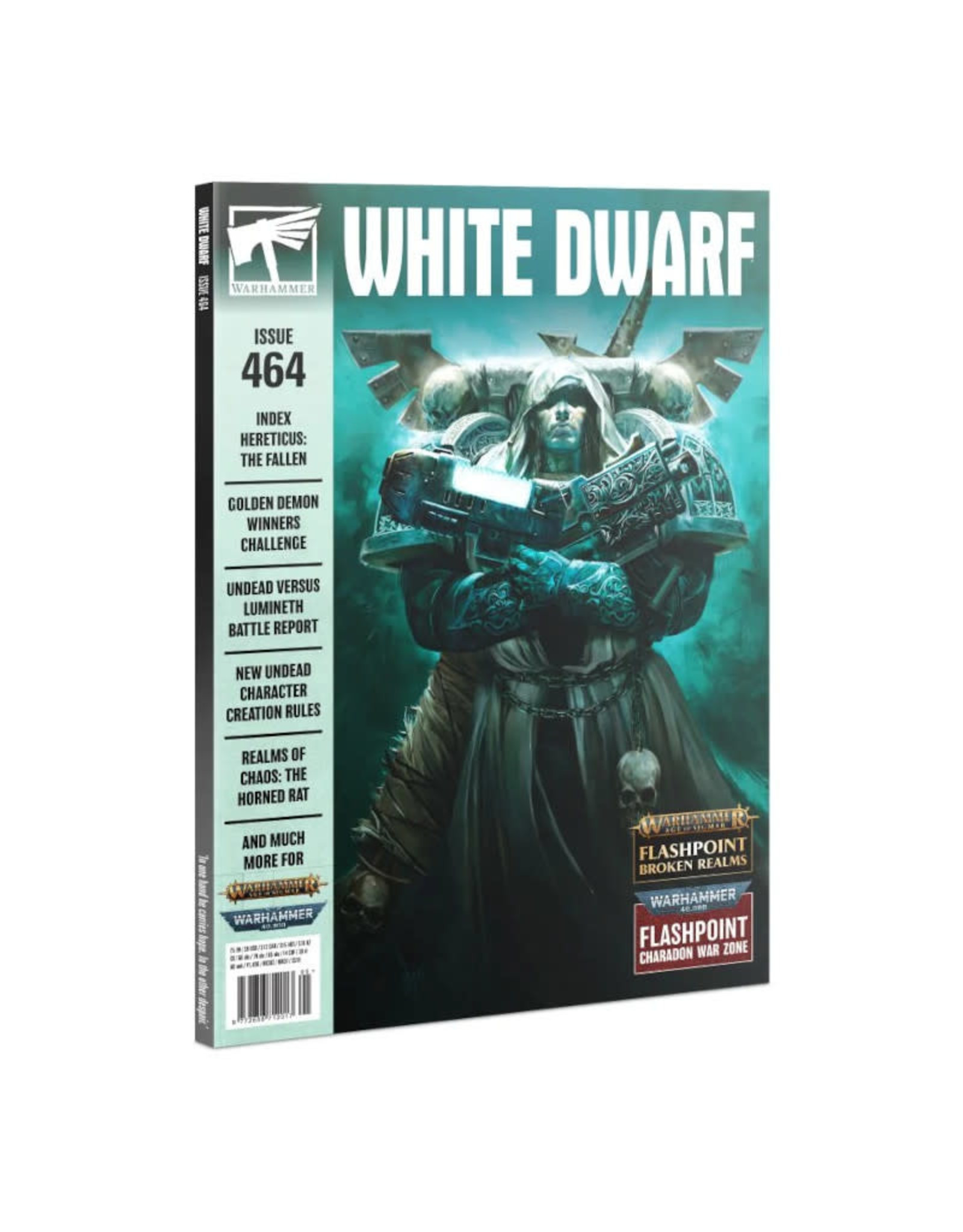 Games Workshop White Dwarf Monthly Issue 464 May 2021