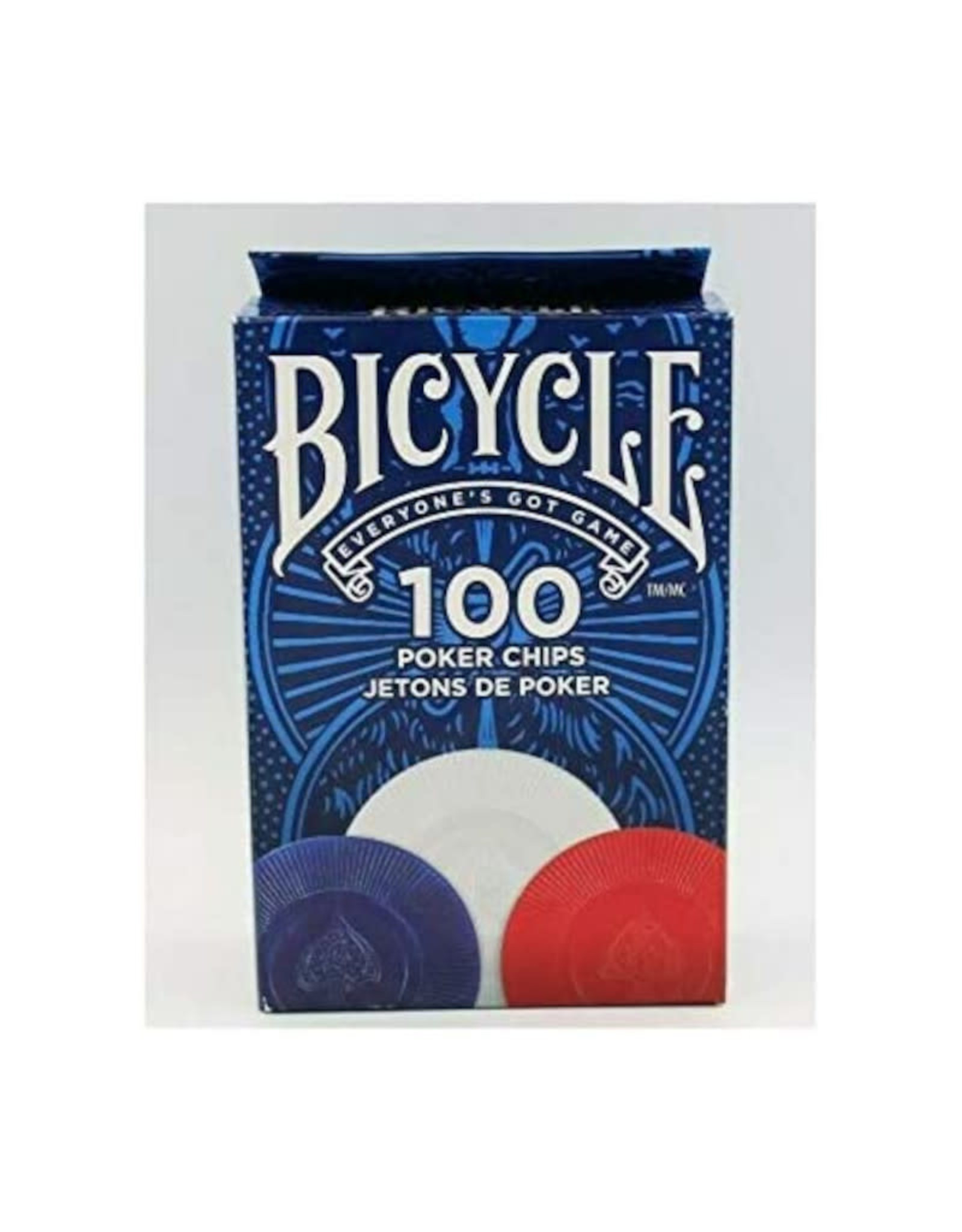 United States Playing Card Co Poker Chips: Bicycle 2 Gram Plastic (100)