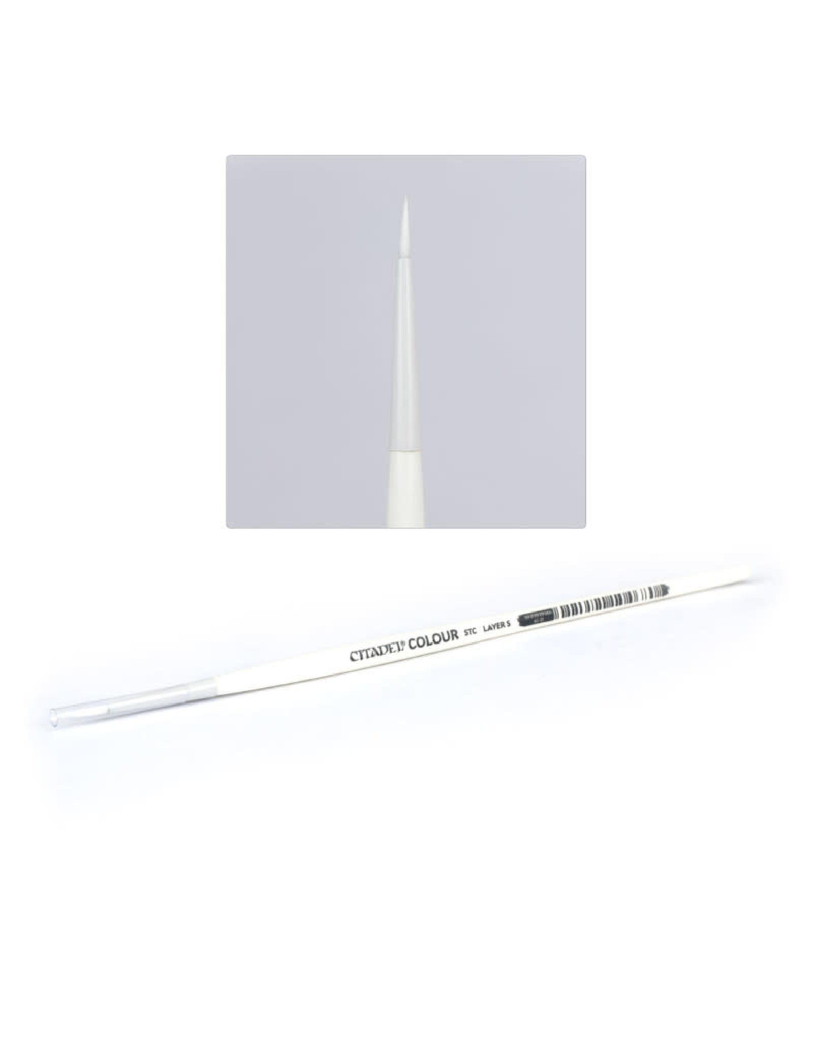 Citadel Synthetic Brush: Small Layer Brush