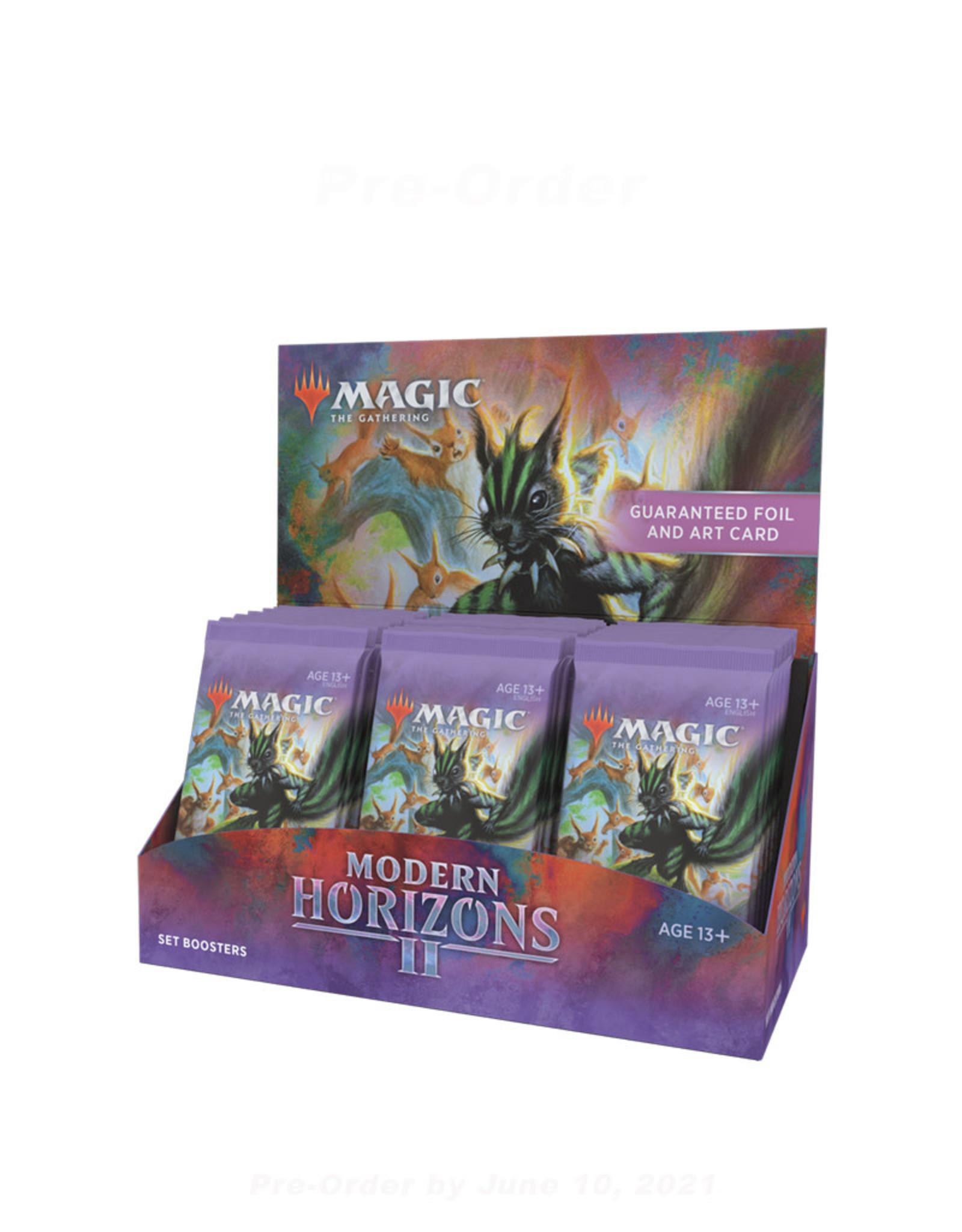 Wizards of the Coast MTG Modern Horizons 2 Set Booster (30) Box Display