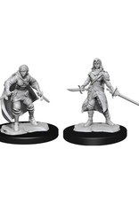 Wizkids D&D Unpainted Minis: Half-Elf Rogue Female