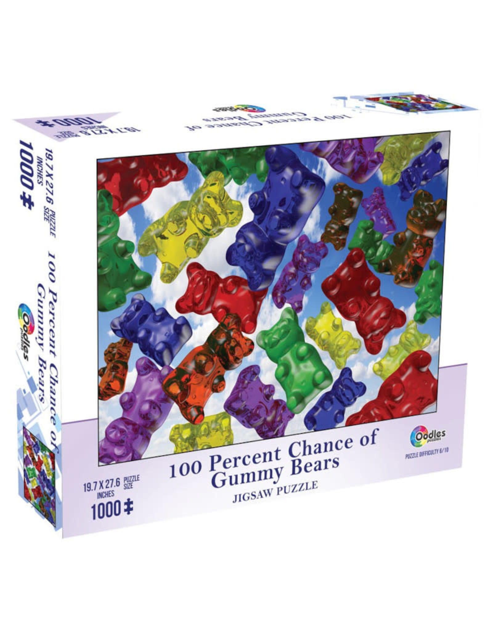 Miscellaneous 100% Chance of Gummy Bears Puzzle 1000 PCS