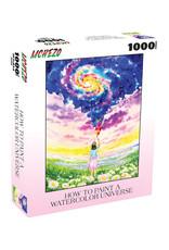 Mchezo Watercolor Universe Puzzle 1000 PCS